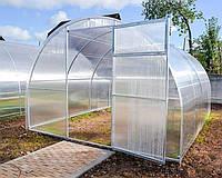 Теплица Oscar Plus Садовод Агро 30 м² (300х1000х200 см) 8 мм Сотовый Поликарбонат (osc_teplitsa12)
