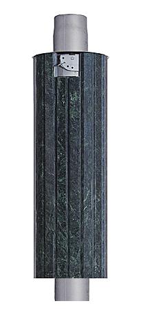 Дымоход- экономайзер змеевик. Стартовый дымоход Ферингер в камне.