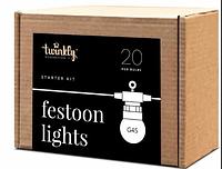 Smart-гирлянда Twinkly Festoon Lights Starter Kit (TWF-020-STP), фото 1