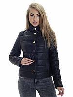 Женская демисезонная куртка Irvik KS152 черный