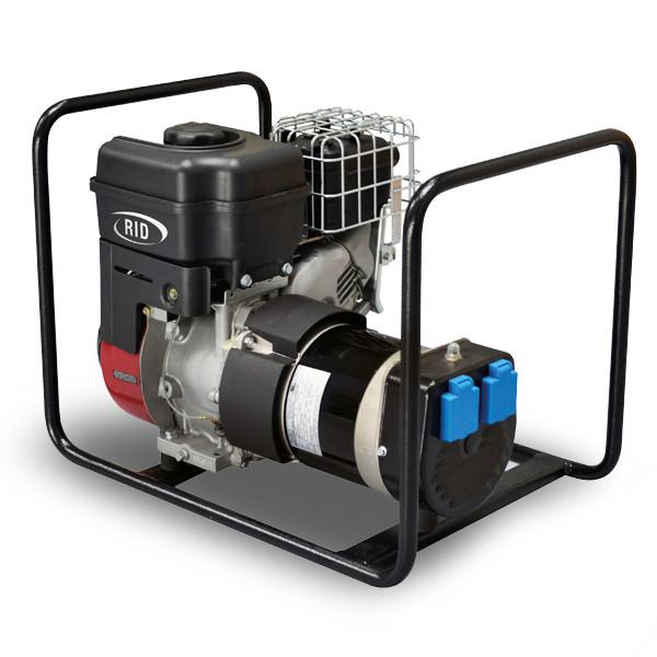 Однофазный бензиновый генератор RID RS 2501 ( 1.8 кВт)