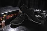 Мужские туфли замшевые весна/осень черные Vankristi 343, фото 4