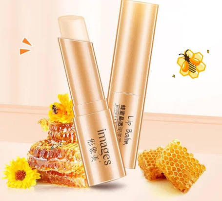Бальзам для губ с медом Images Honey Crystal Luster Lip Balm, фото 2