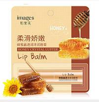 Бальзам для губ с медом Images Honey Crystal Luster Lip Balm, фото 3