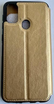 """Чехол-книжка """"Dragon Standart"""" Samsung M307 / M30S золотой, фото 2"""