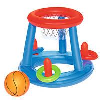 BW Игровой центр 52190, баскетбол, мяч, кольца, ремкомплект, в кор-ке,