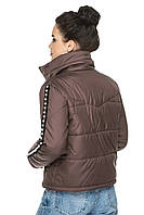 Укороченная женская демисезонная куртка