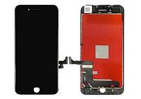 Дисплей модуль Iphone 8 Plus LCD+touchscreen black(черный)