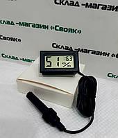 Влагомер для инкубатора + цифровой термометр (гигрометр).