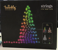 Smart Гирлянда Twinkly Strings 175 RGB LED Wi-Fi, фото 1