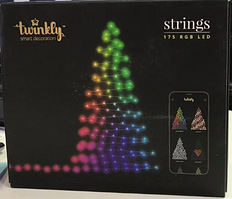 Smart Гирлянда Twinkly Strings 175 RGB LED Wi-Fi