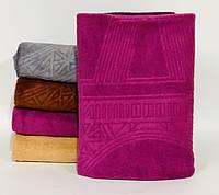 Банное полотенце из микрофибры Париж,размер: 140*70 см