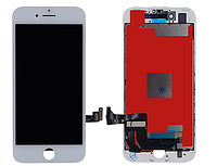 Дисплей модуль Iphone 8 Plus LCD+touchscreen white(белый)