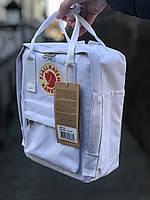 Рюкзак Fjallraven Kanken Mini White, 7л, Материал: Vinylon F 100%, фото 1