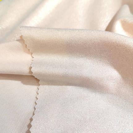 Трикотаж футер двунитка персиковая с напылением, фото 2
