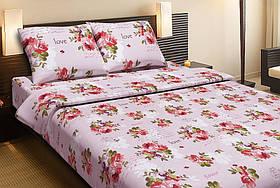 Постельное белье Lotus Ranforce Rose розовое полуторного размера