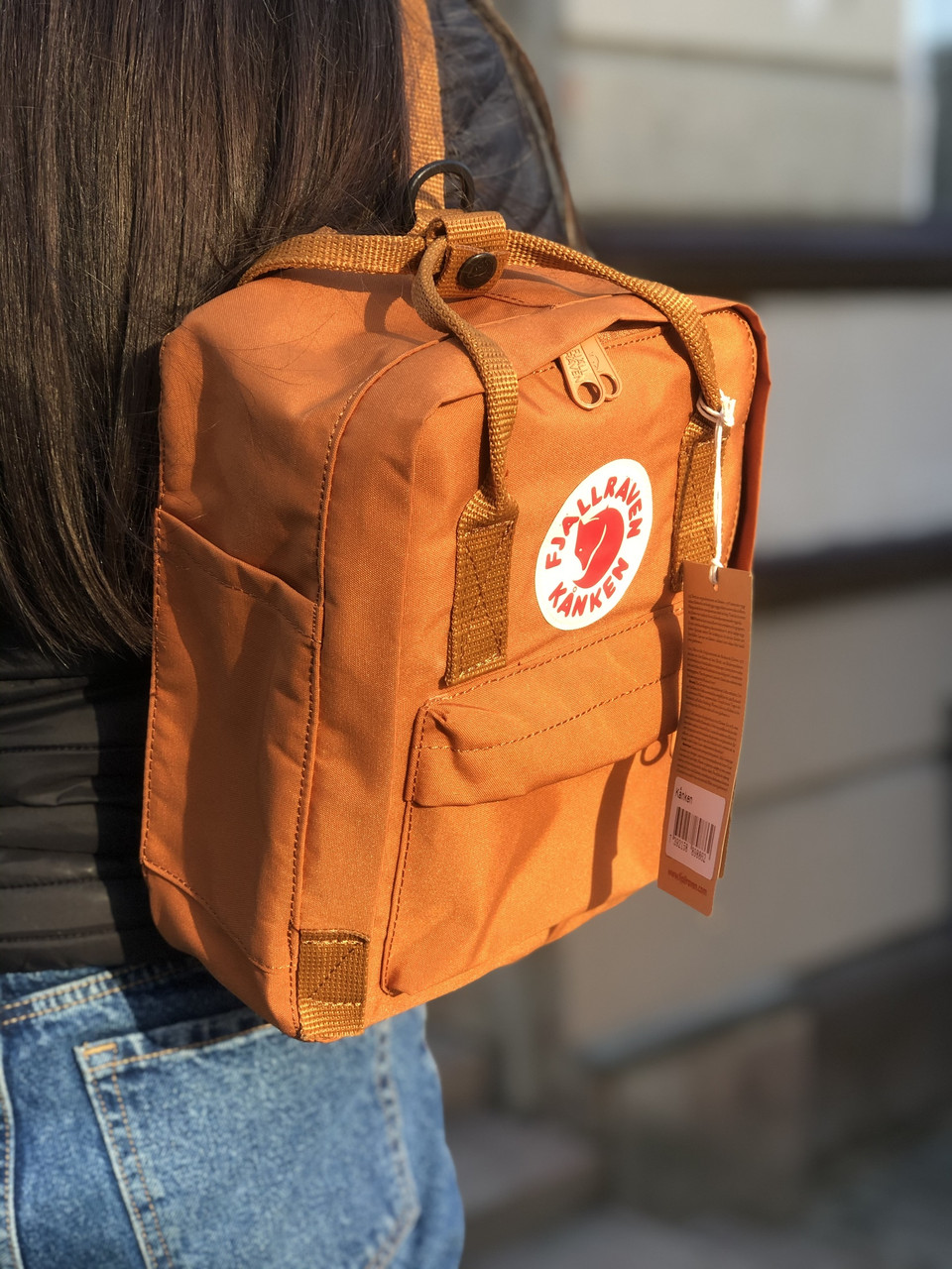 Рюкзак Fjallraven Kanken Mini Burnt Orange, 7л, Материал: Vinylon F 100%