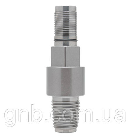 "Адаптер VERMEER® 2-3/8"" FS1 Pin x 1-5/8"" LP Hex Pin, фото 2"
