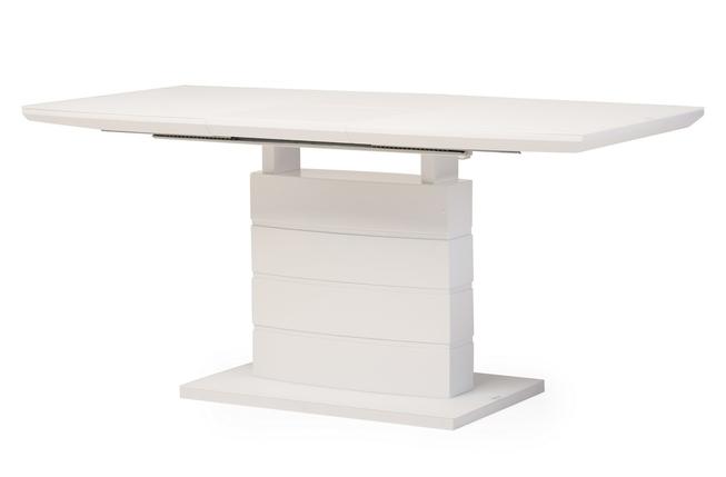 Стол раскладной TMM- 50-1 (120-160)*80*76(Н) матовый белый TM Vetro Mebel, фото 2