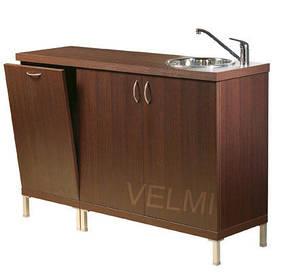 Лаборатория для парикмахерской VM503 ДСП Swisspan Орех темный (Velmi TM)