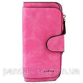 Гаманець жіночий клатч портмоне Baellerry Forever колір малиновий