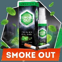 Смок Аут. Спрей  от курения - Smoke Out.