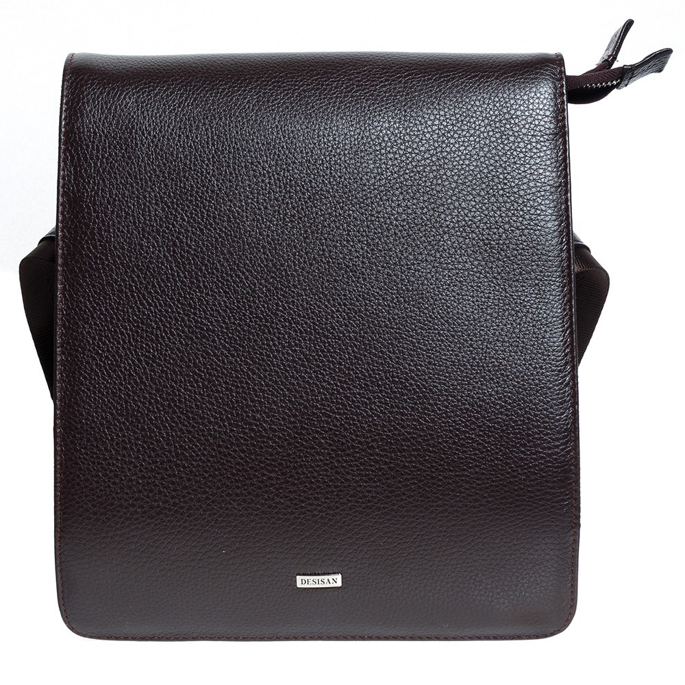Мужская сумка через плечо Desisan из натуральной кожи
