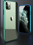 Магнитный металл чехол FULL GLASS 360° для iPhone 11 Pro /, фото 5