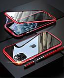 Магнітний метал чохол FULL GLASS 360° для iPhone 11 Pro /, фото 8