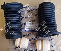 Комплект 2 чехола + 2 отбойника переднего амортизатора Авео Т200 205 255 Кённер  96535008, фото 1
