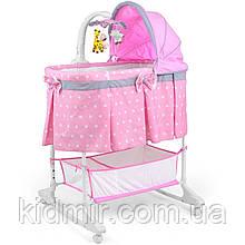 Колиска - ліжечко Milly Mally Sweet Melody колір Pink 20393