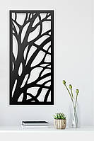 Декоративное металлическое панно Ветви .