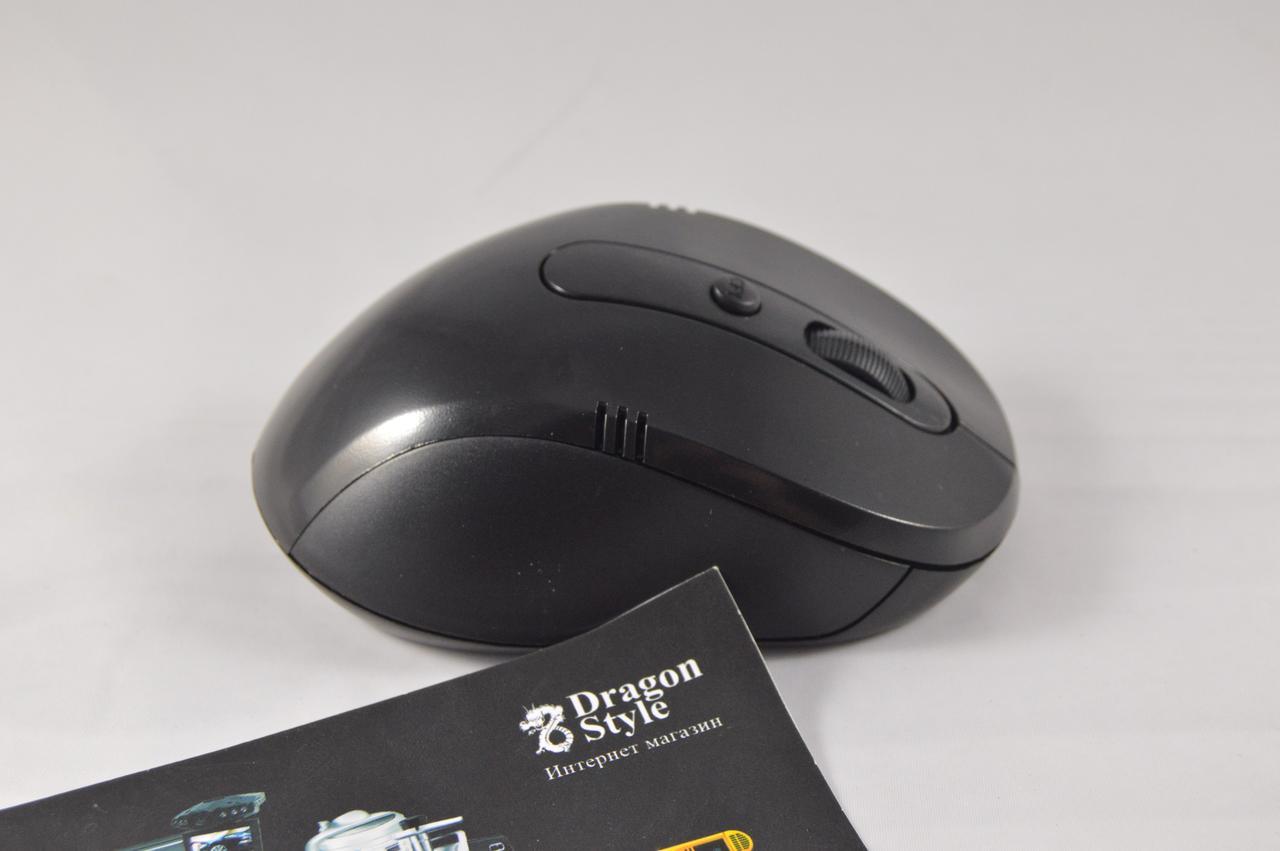 Беспроводная компьютерная мышь Wireless Mouse 2.4 GHz (регулятор dpi, 2 дополнительные кнопки)