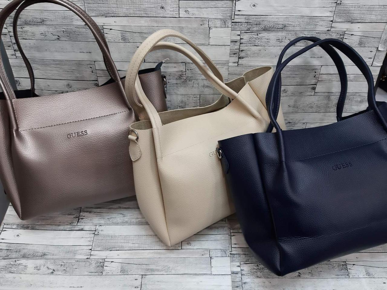 Женская Сумочка GUESS сумка экокожа.