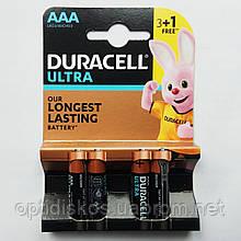 Батарейка Duracell Ultra, LR03, AАA, уп.4шт