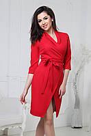 S, M, L / Коктейльне червоне плаття на запах