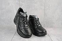 Женские кроссовки кожаные зимние черные Onward 622, фото 1