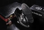 Мужские туфли кожаные летние белые Vankristi 343, фото 5
