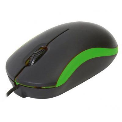 Мышка OMEGA OM-07 3D optical green (OM07VG)