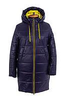 Весна женские Куртки  больших размеров   48-58 синий