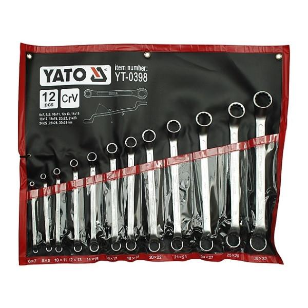 Набор ключей накидных 12 эл. YATO YT-0398