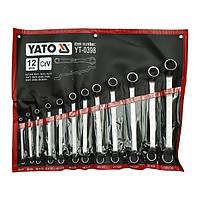 Набор ключей накидных 12 эл. YATO YT-0398, фото 1