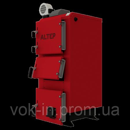 Твердотопливный котел АЛЬТЕП DUO PLUS 50 кВт с автоматикой