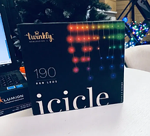 Smаrt гирлянда бахромаTwinkly Icicle 190 LEDs Multicolor