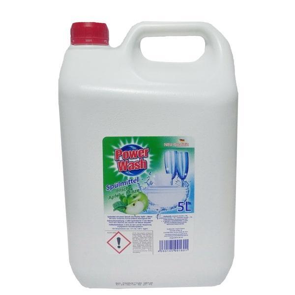 Засіб для миття посуду 5 л Spulmittel Orange Apfel Power Wash 4260145991601
