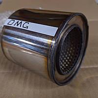 Пламегаситель коллекторный 100/85 , вставка вместо катализатора в коллектор 100/ 85 (диаметр/высота) нержавейка