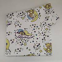 Фланелевая пеленка большая для новорожденного