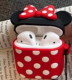 Мультяшный чехол IQEA Mickey Mouse #1 для наушников Apple AirPods TWS i10 Bluetooth Silicone Case, фото 2