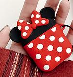Мультяшный чехол IQEA Mickey Mouse #1 для наушников Apple AirPods TWS i10 Bluetooth Silicone Case, фото 3