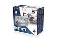 Надувной диван Bestway 75073,  с электрическим насосом 188 х 152 х 64 см